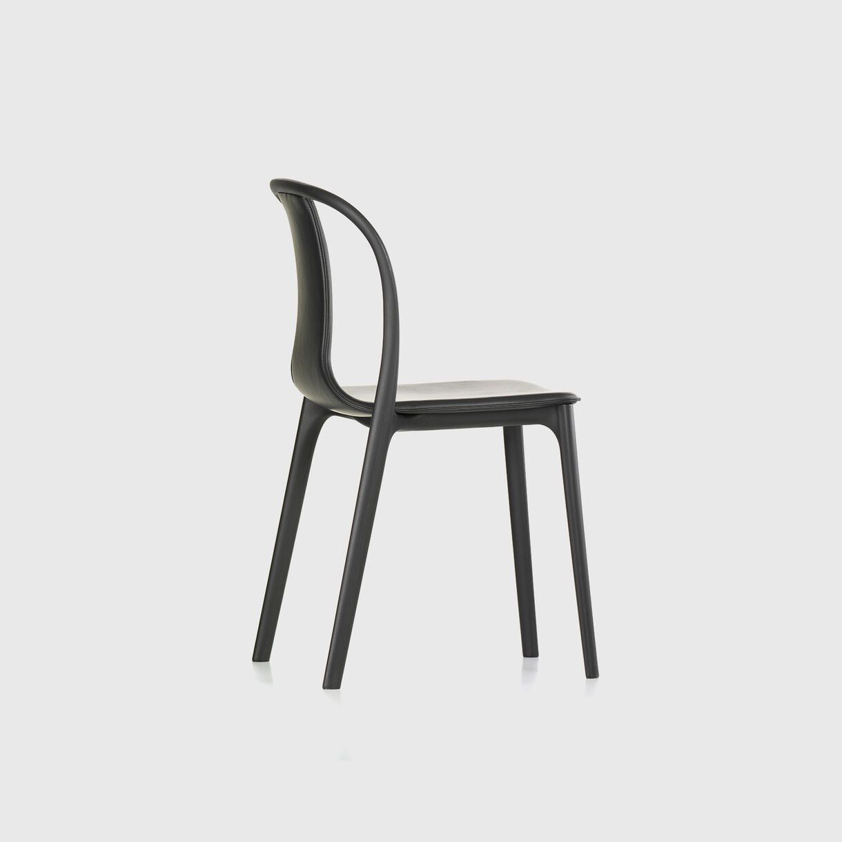 Belleville Chair, Black Leather