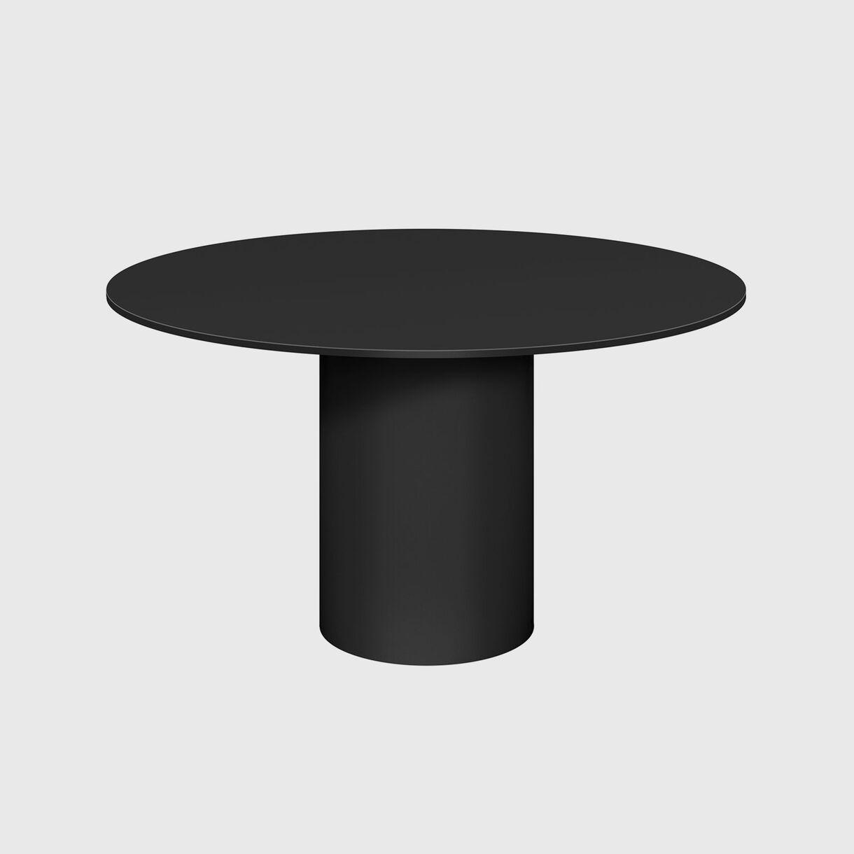 Hiroki Metal Table, Black