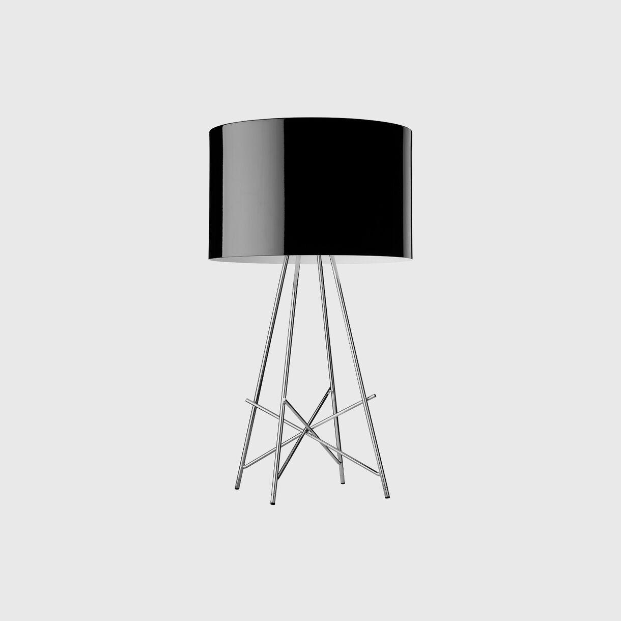 Ray Table Lamp, Black