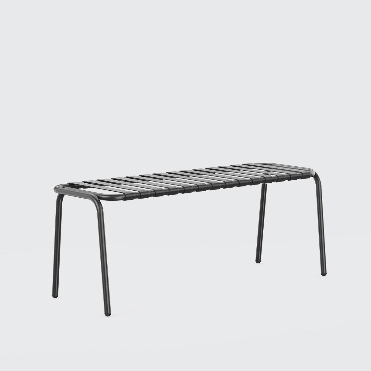 Strap Bench, Black