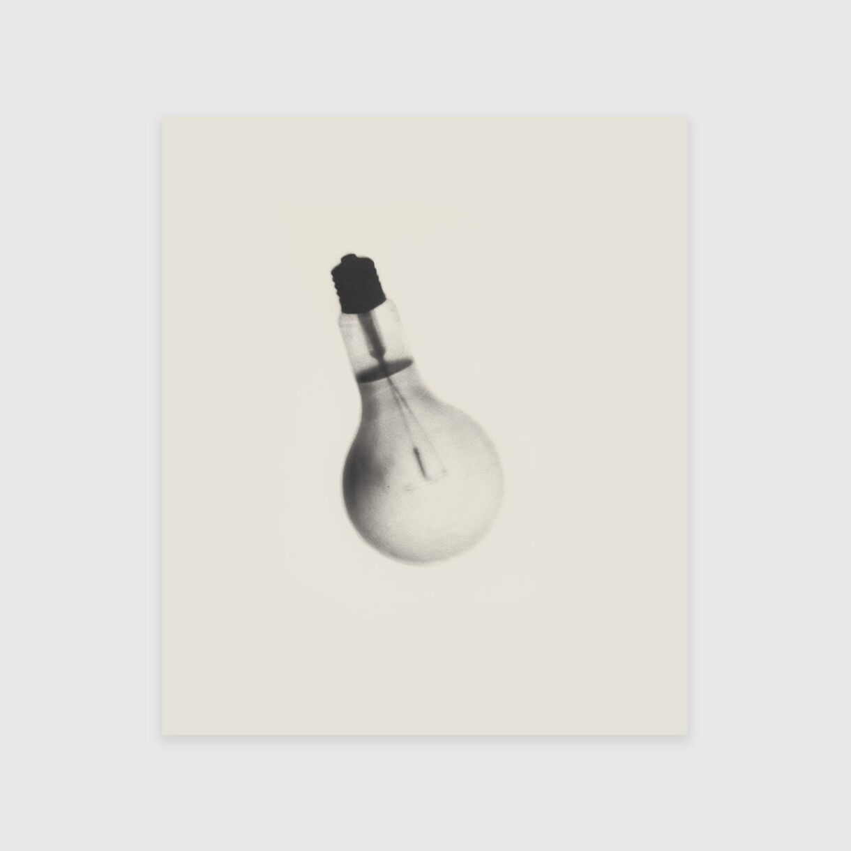 Spent Bulb Exposed by a Live One, Cornelia Parker