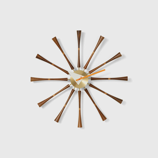 Spindle Wall Clock