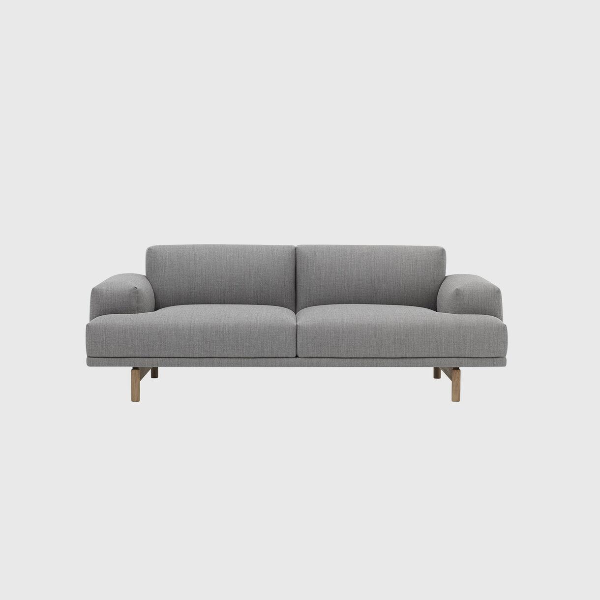 Compose Sofa, 2 Seater, Fiord 151