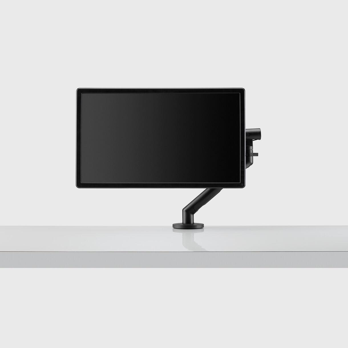 Flo Monitor Arm, Black