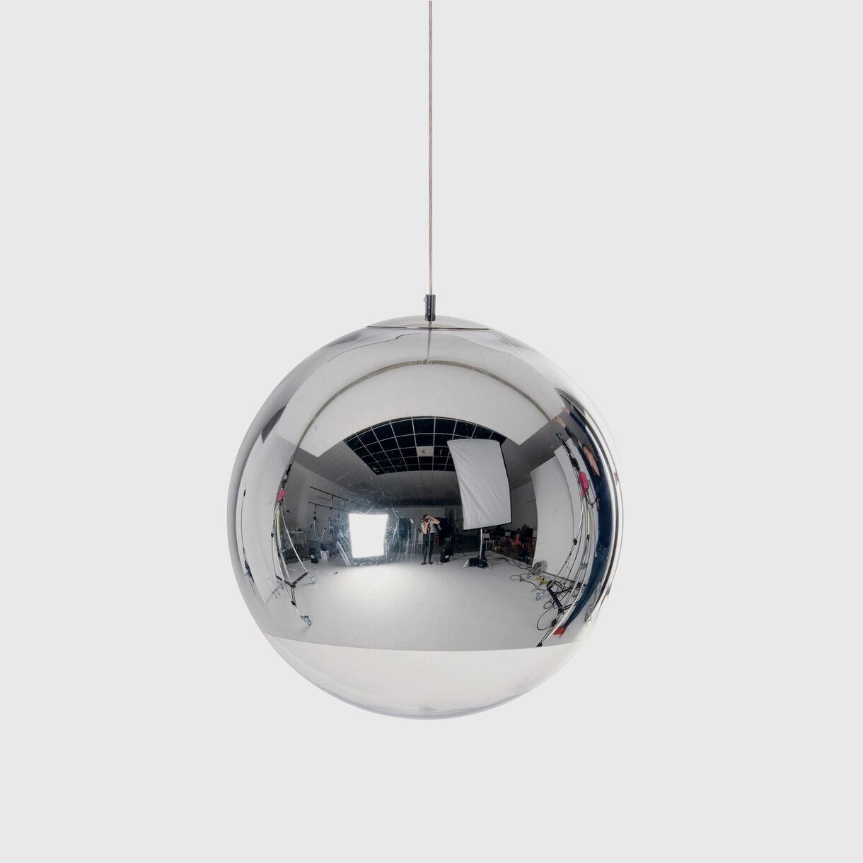 Mirror Ball Pendant 500mm, Chrome