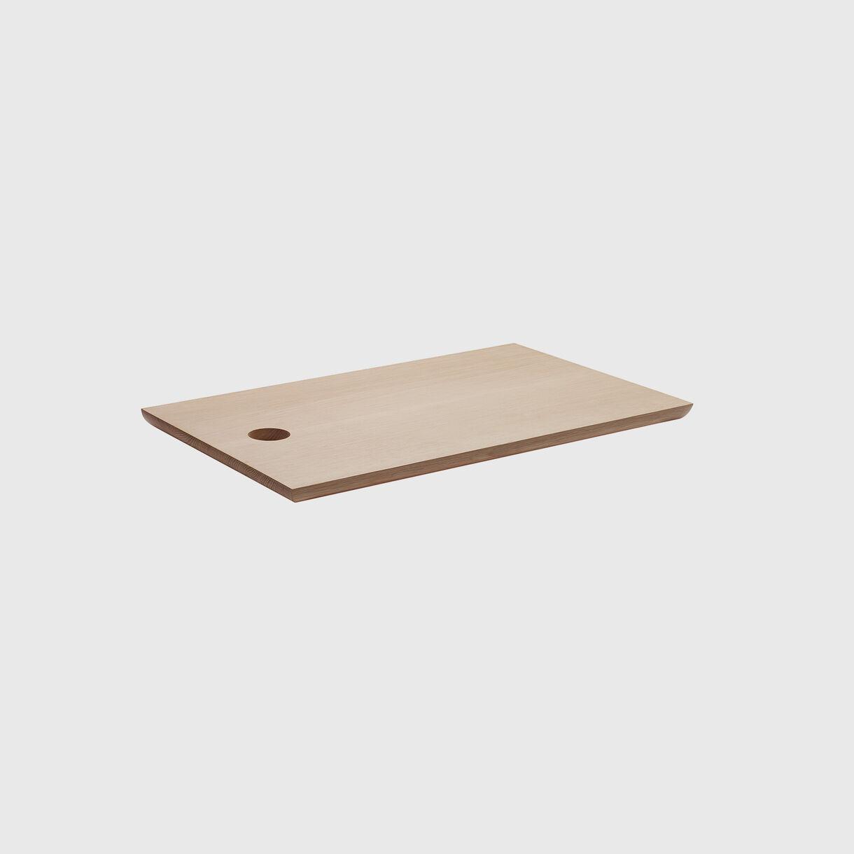 Cut Cutting Board, Oak, Short