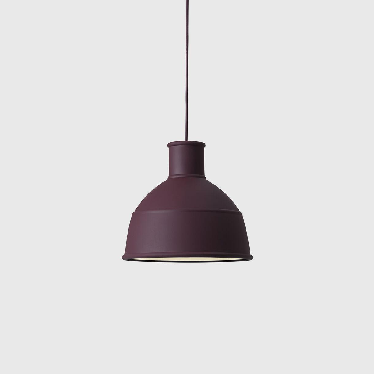 Unfold Pendant Lamp, Burgundy