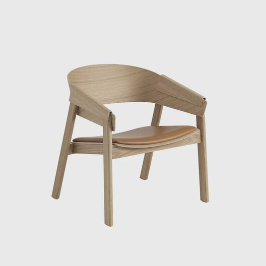 Cover Lounge Chair with Upholstered Seat