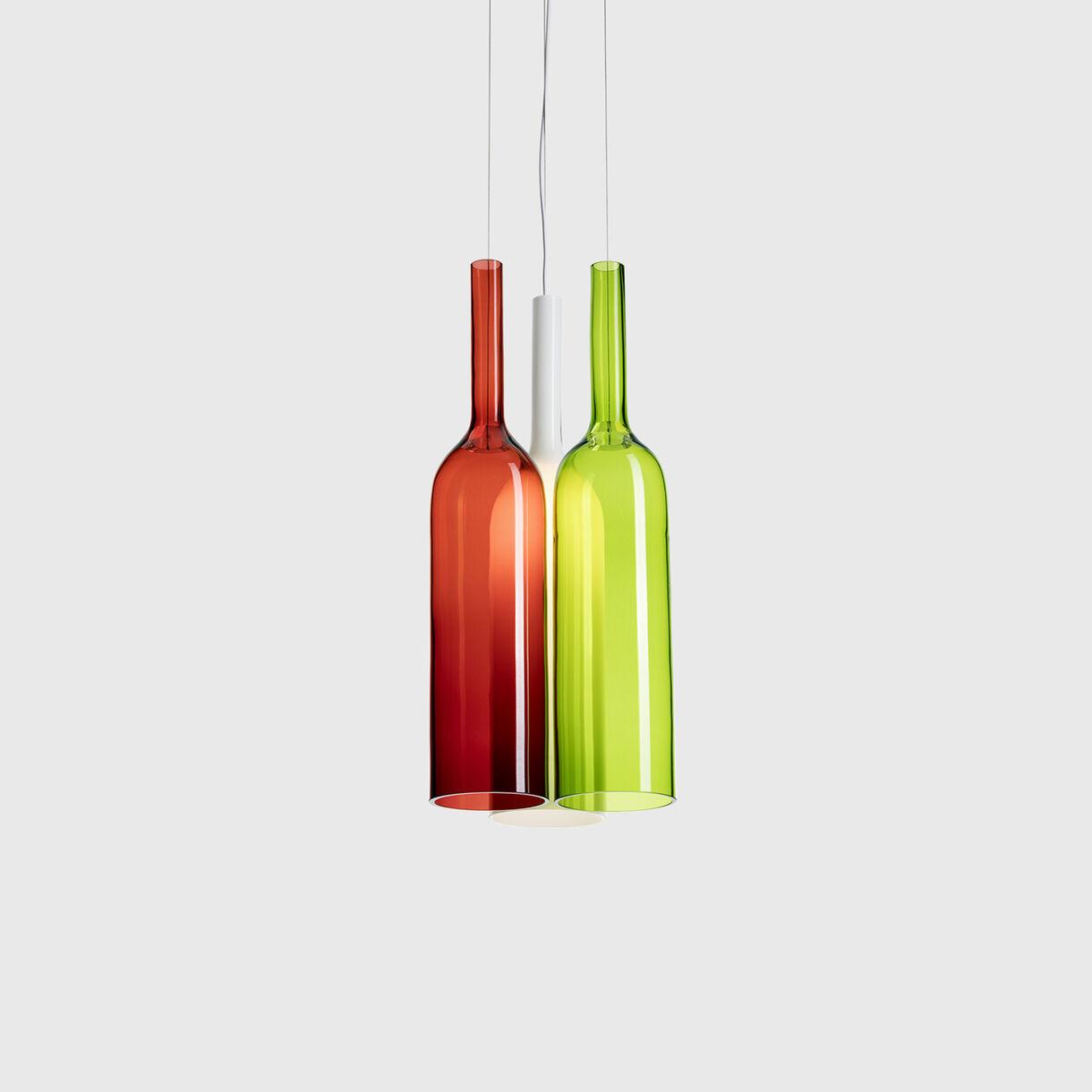 Jar Pendant Lamp, Cluster of 3