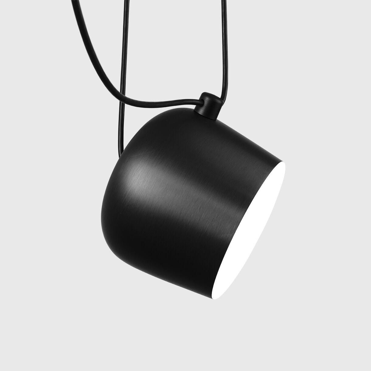 Aim Suspension Lamp, Black