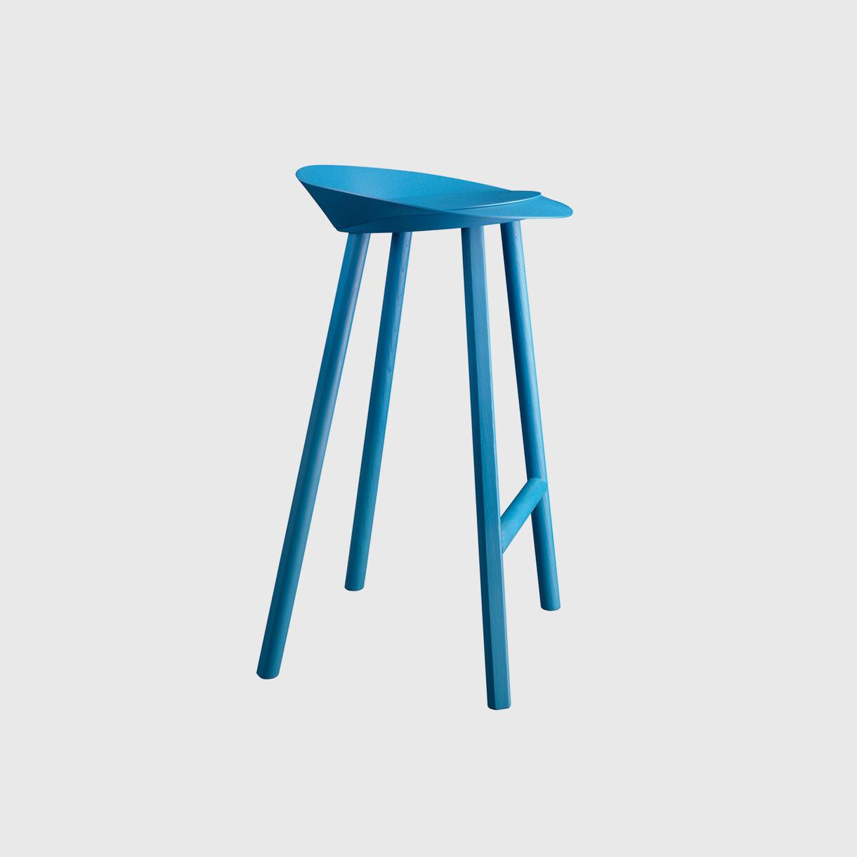 Jean Bar Stool, Blue