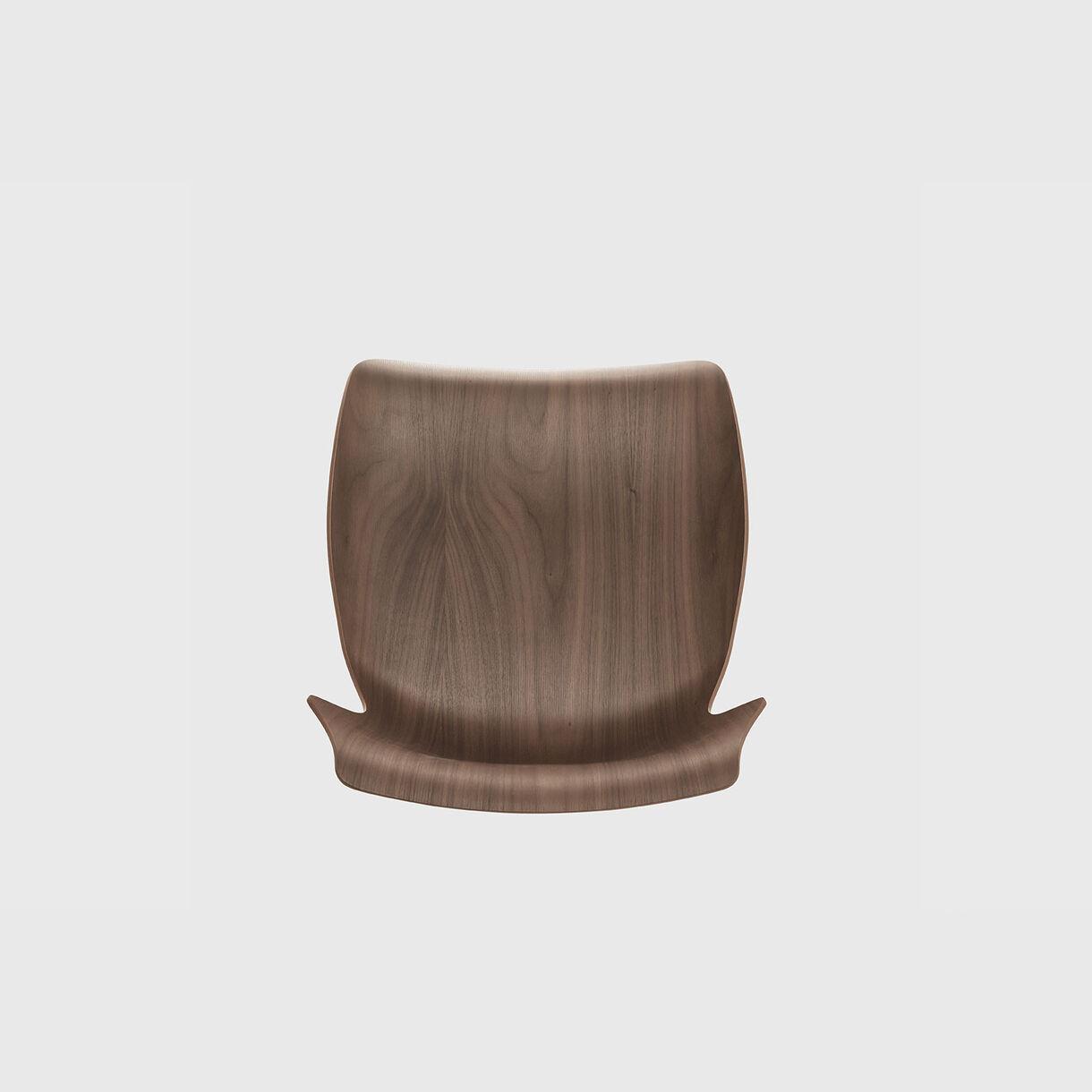 Petal Counter Stool, Walnut
