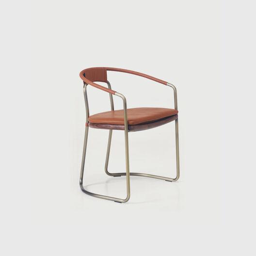 Geometric Side Chair