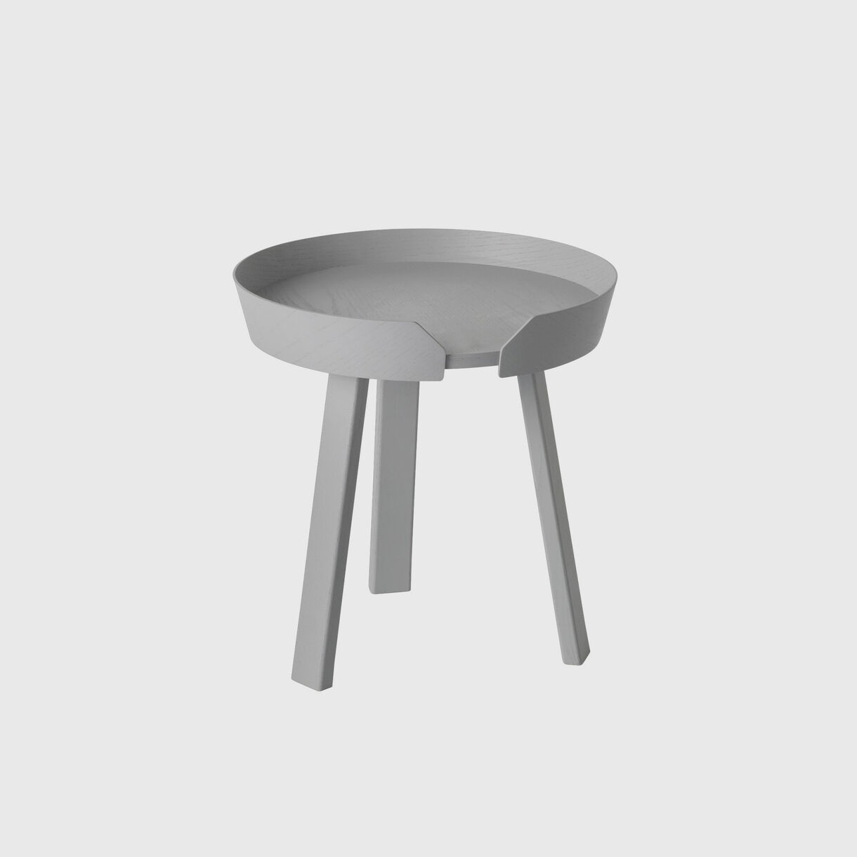 Around Coffee Table Small, Grey