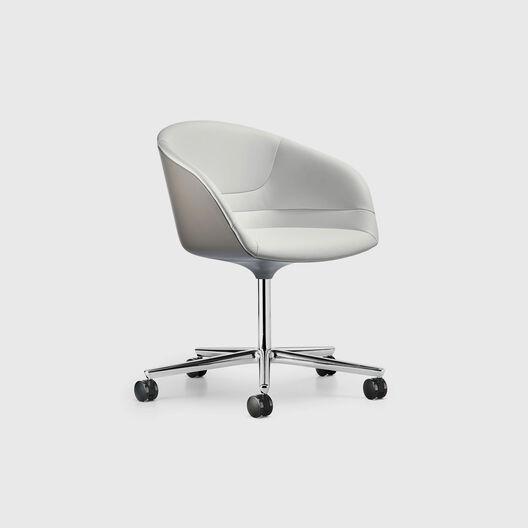 Kyo Swivel Chair, 5-Star base