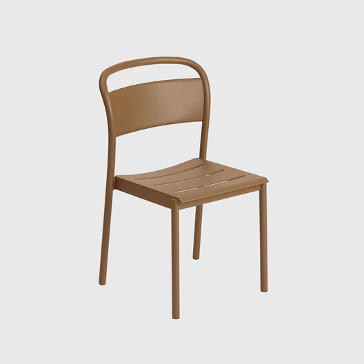 Linear Steel Side Chair