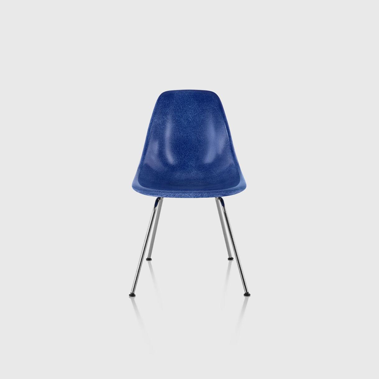 Eames Moulded Fibreglass Side Chair, 4-Leg Base