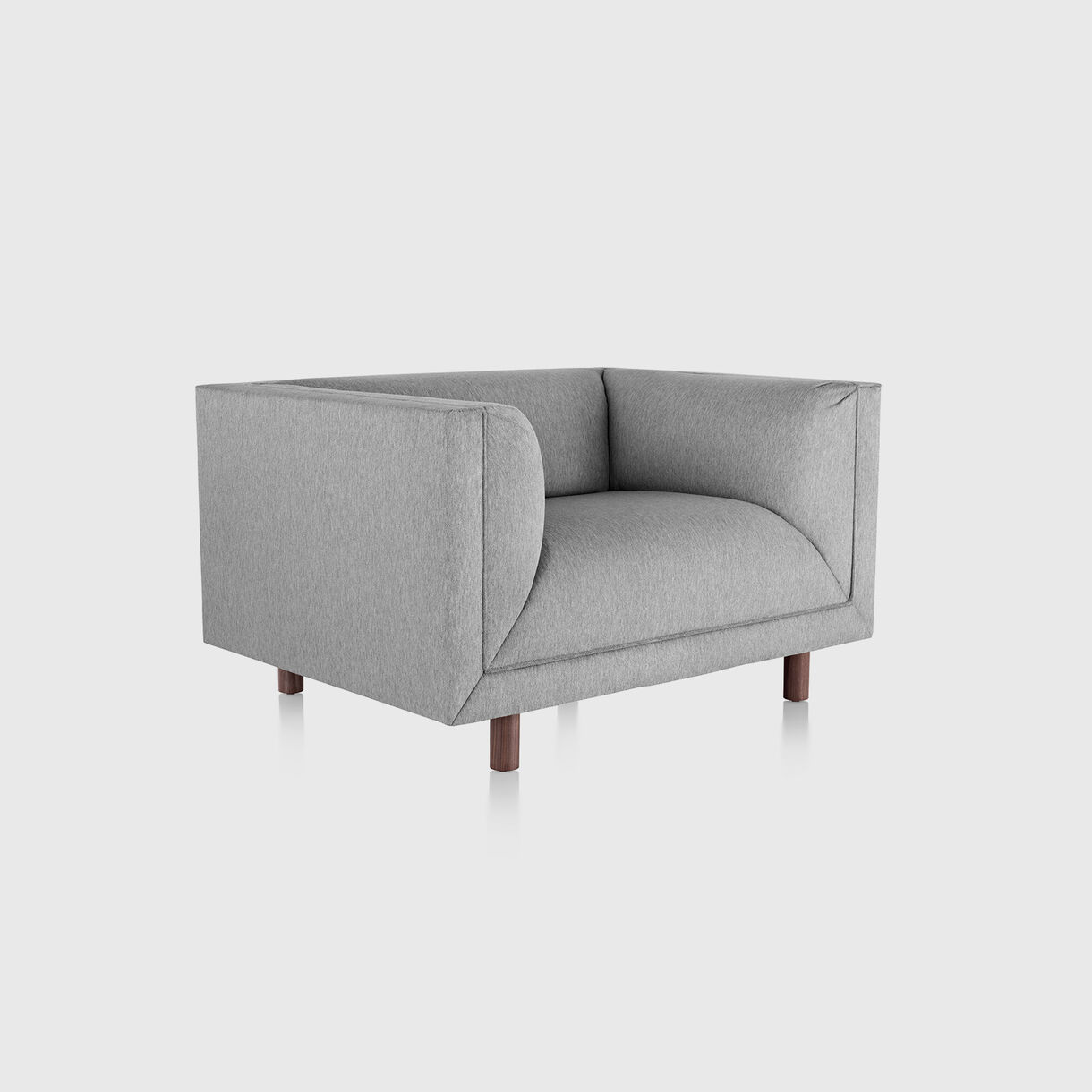 Rolled Arm Club Chair