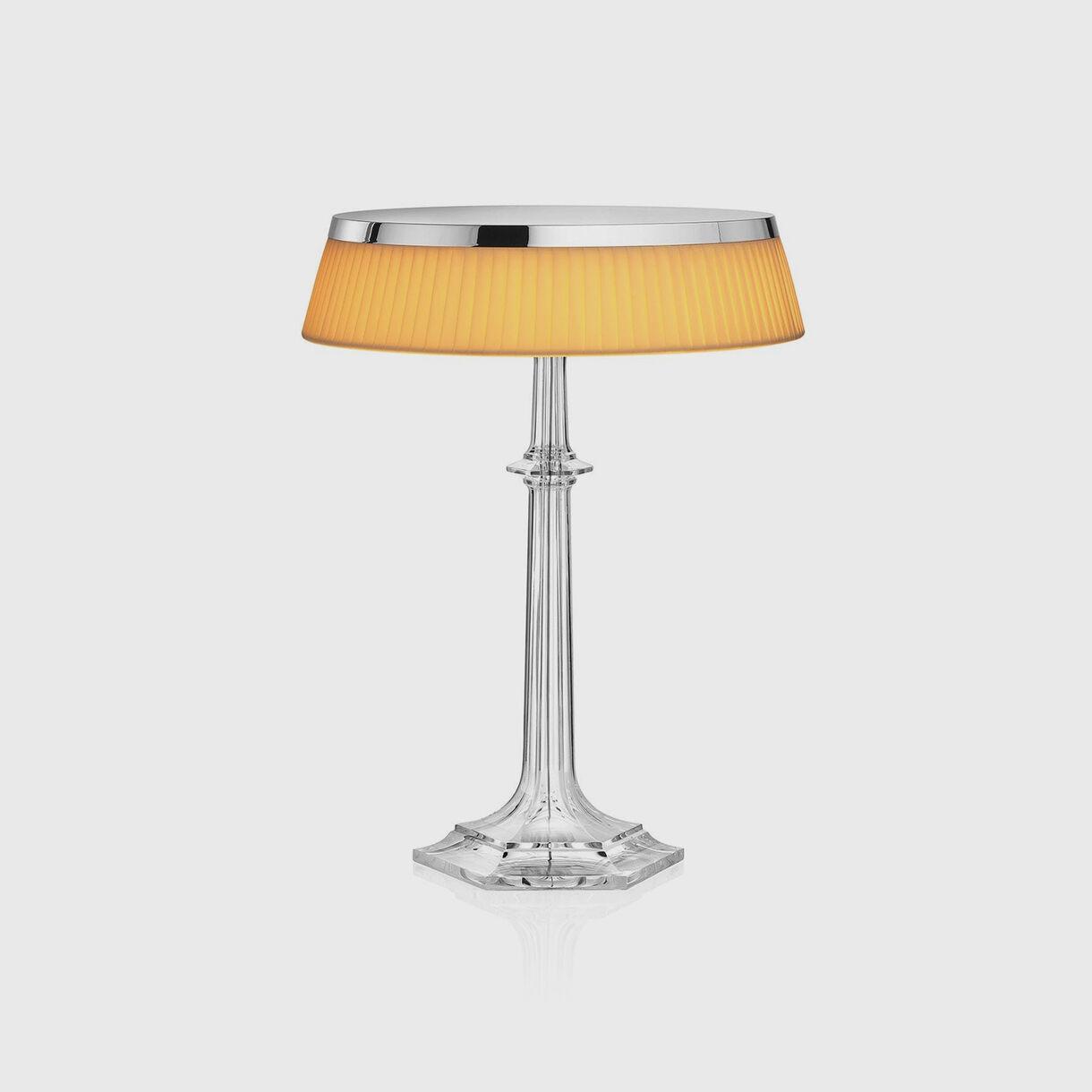 Bon Jour Table Lamp, Chrome