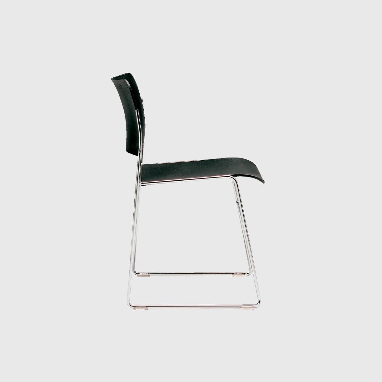 40/4 Side Chair, Black