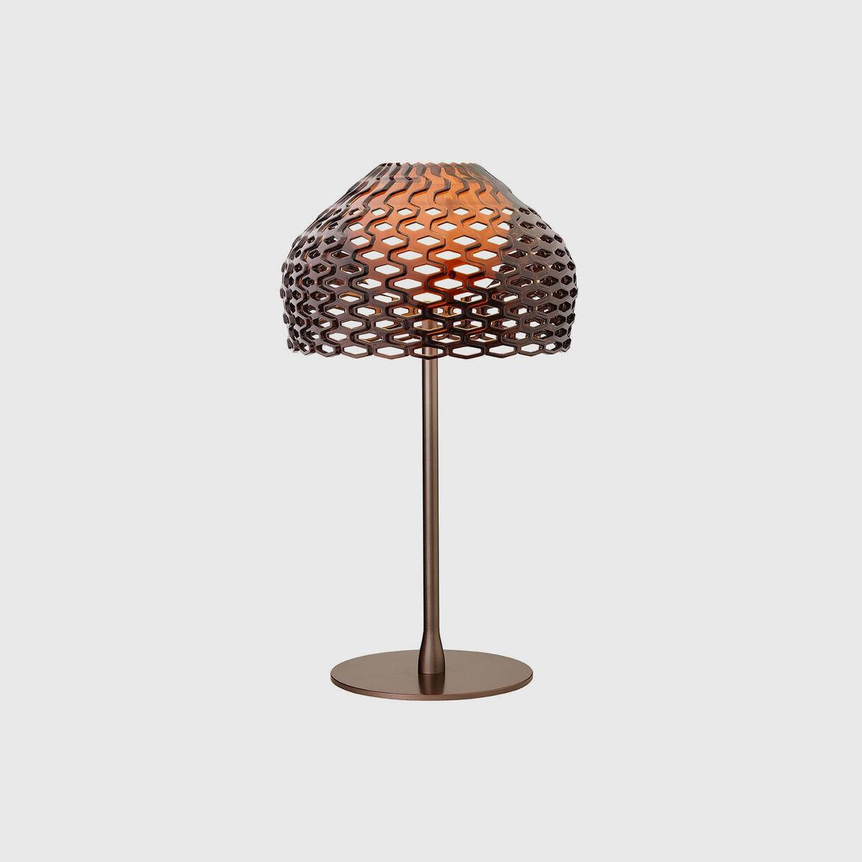 Tatou Table Lamp, Ochre Grey