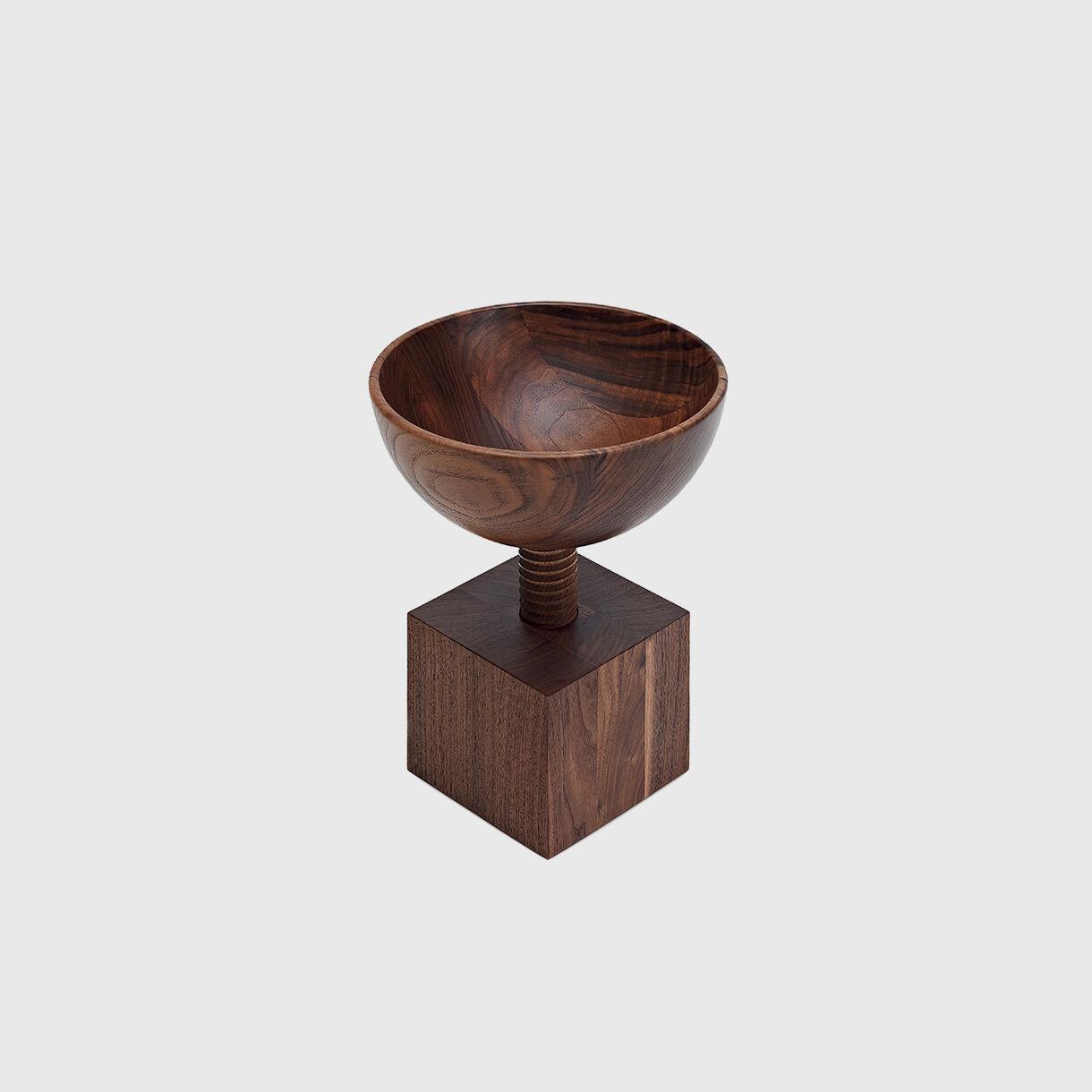 Vijak Bowl, American Black Walnut