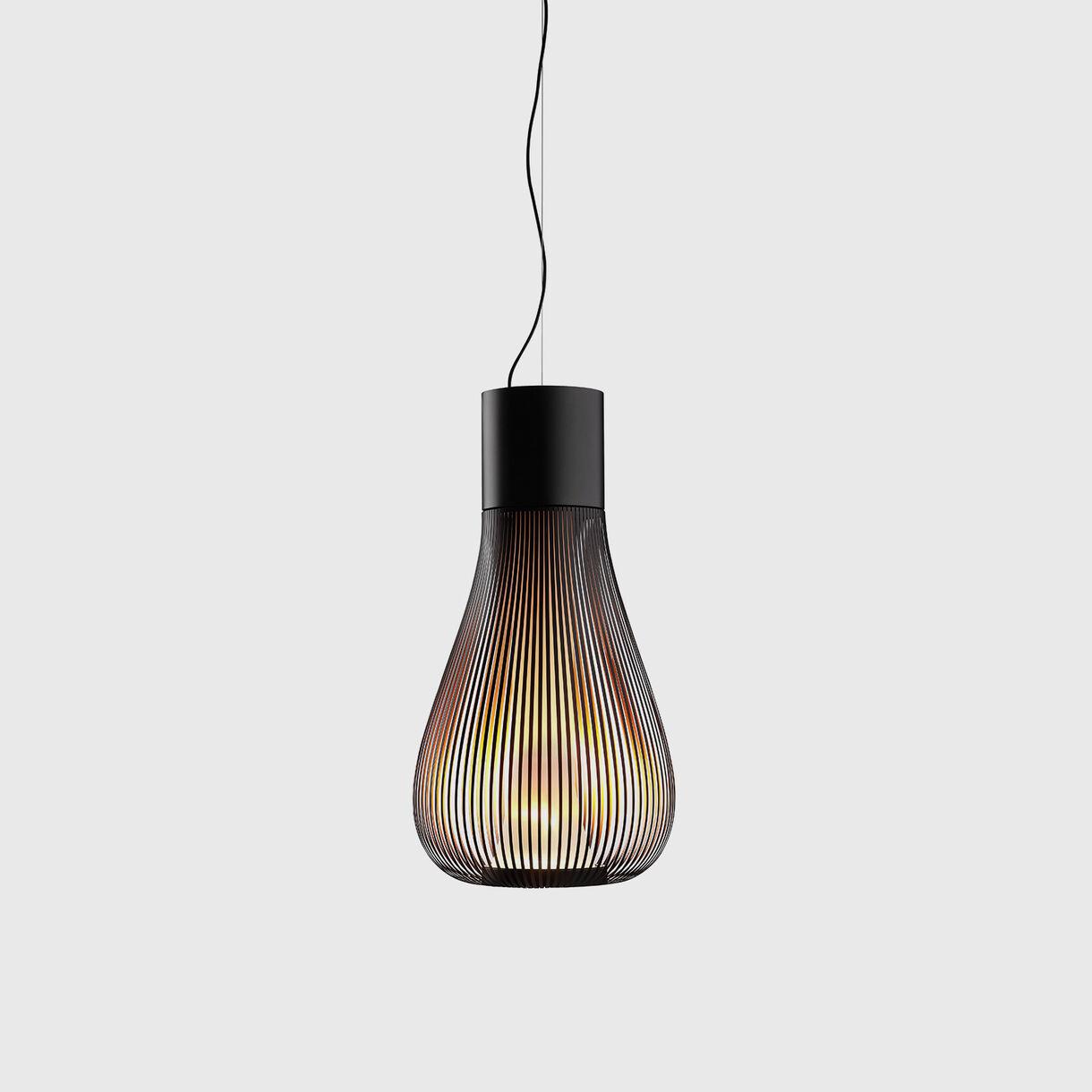 Chasen Suspension Lamp, Black
