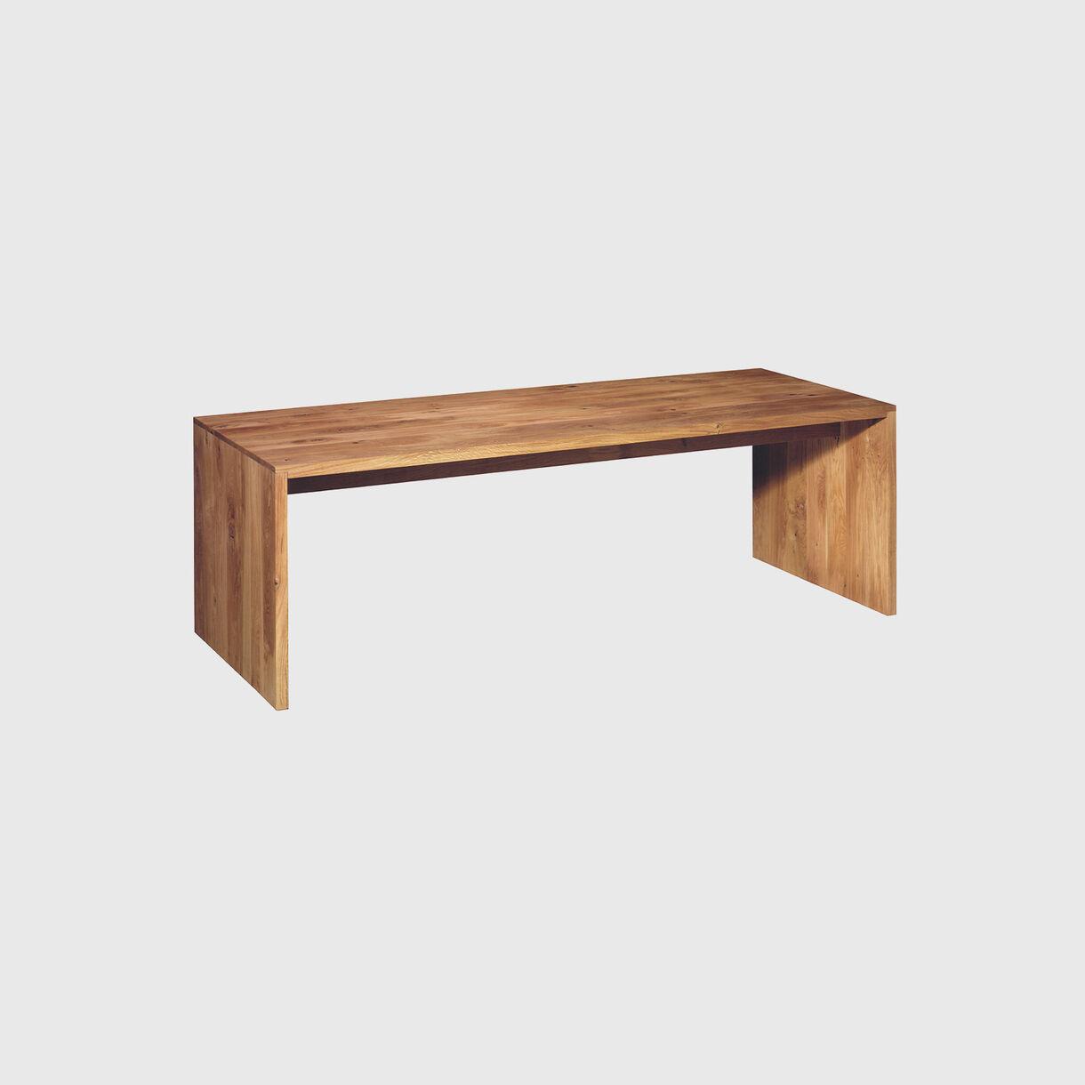 Ponte Table, European Oak
