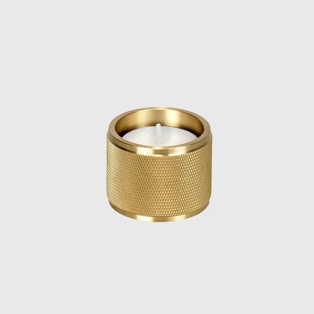 Tealight Candle Holder, Brass