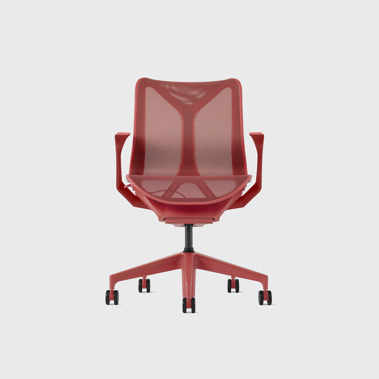 Cosm Chair, Canyon - Low Back - Fixed Arms