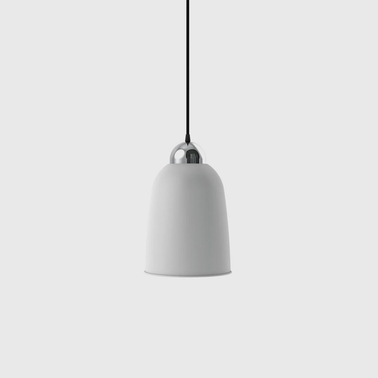Nepal Pendant, Perky, White Black & Silver