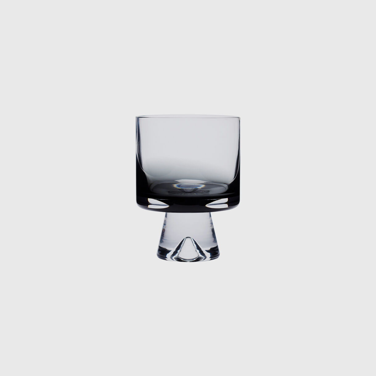 Tank Low Ball Glass, Black