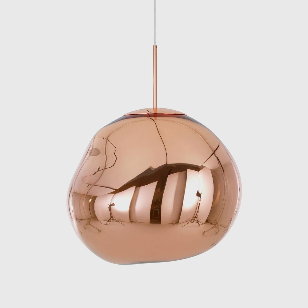 Melt Pendant, LED, Copper, Off