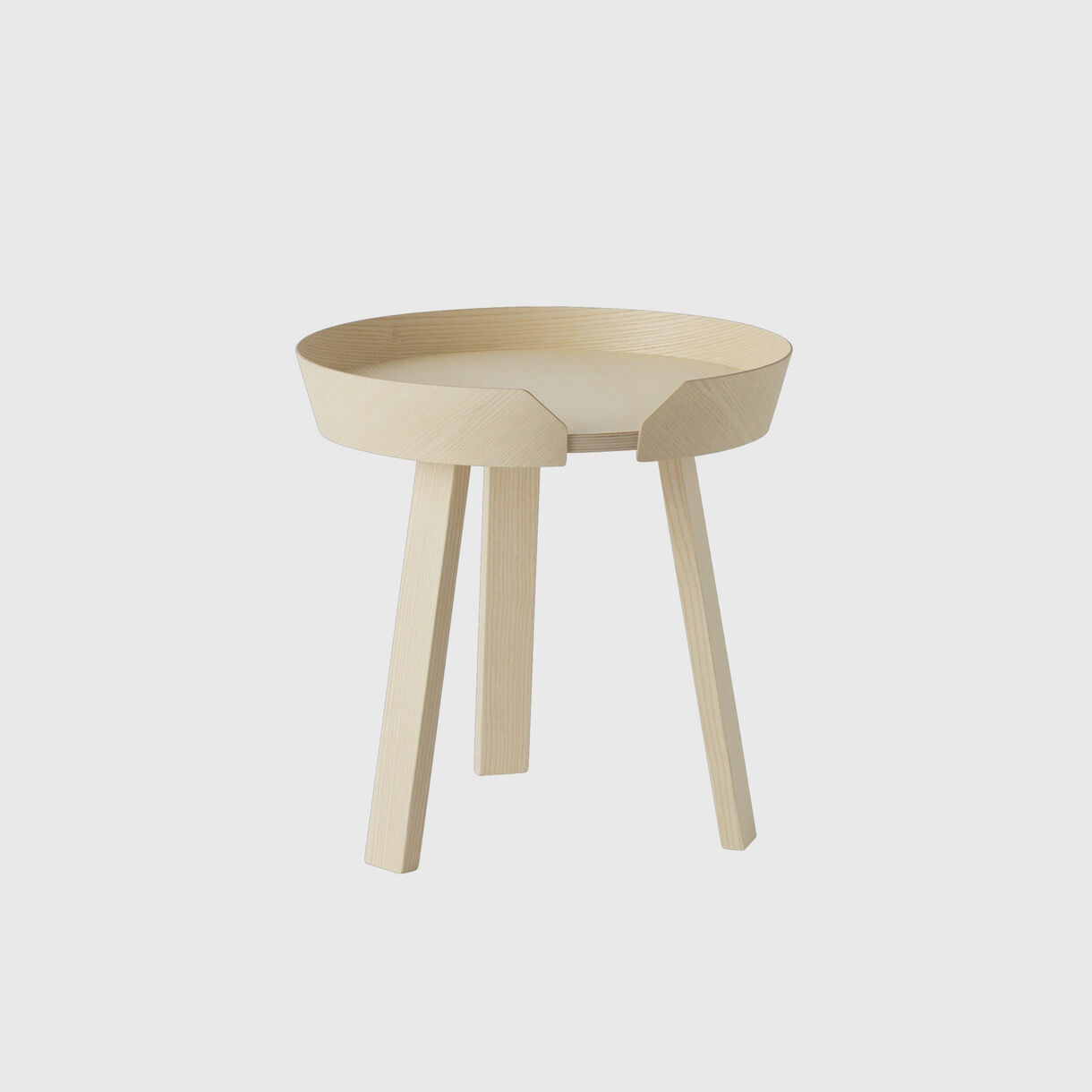 Around Coffee Table Small, Ash