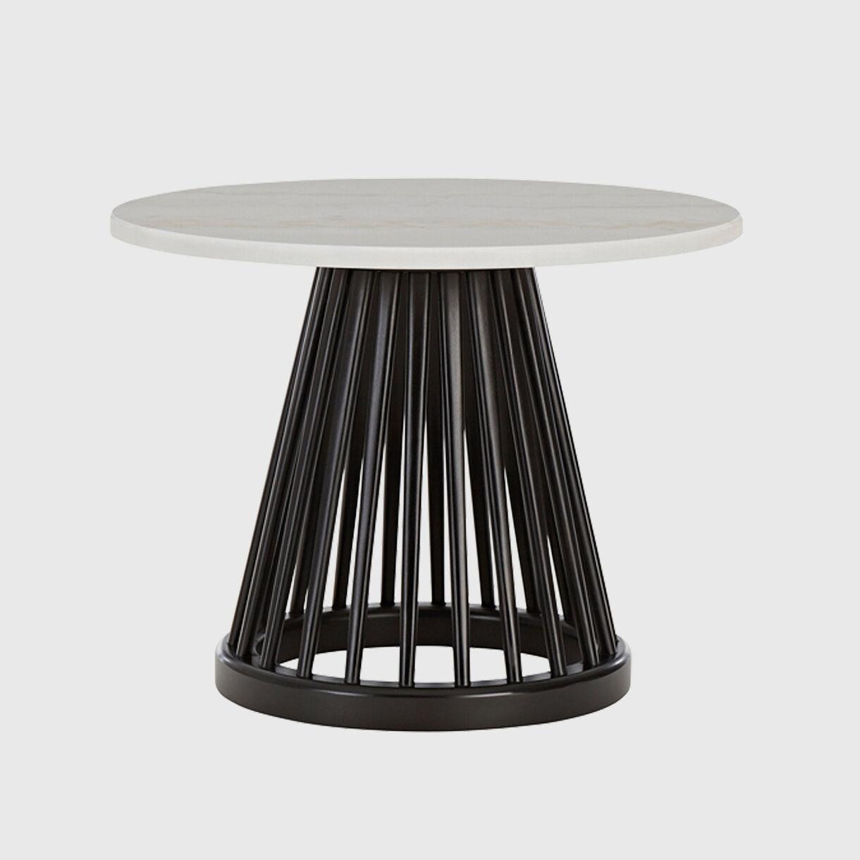Fan Table, Black