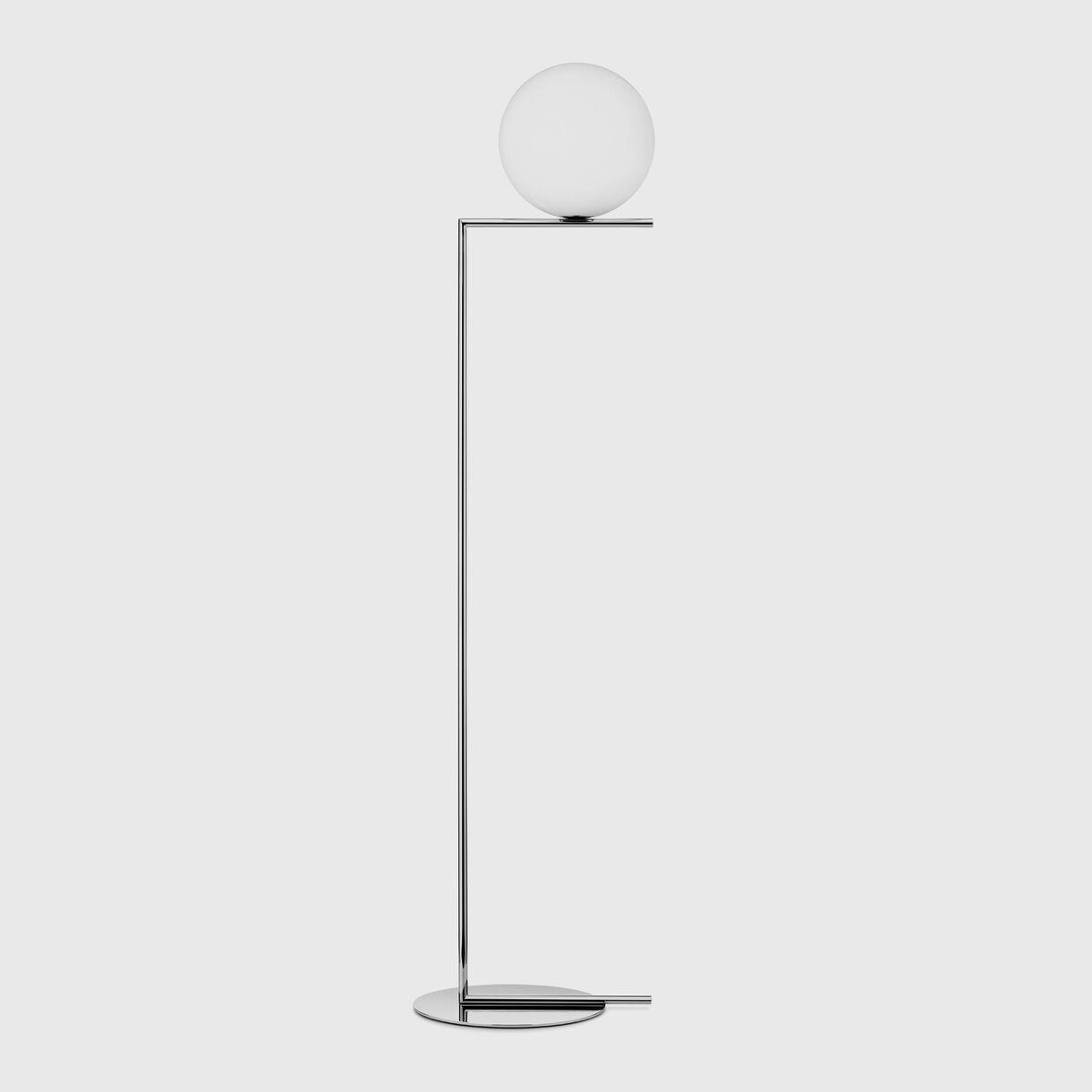 IC Floor Lamp F2, Chrome