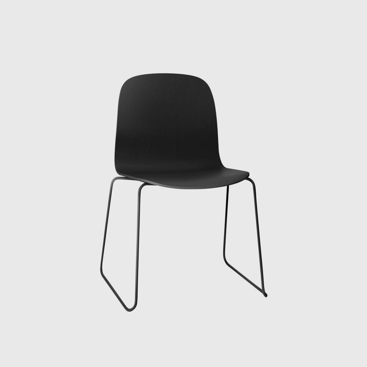Visu Chair Sled Base, Black