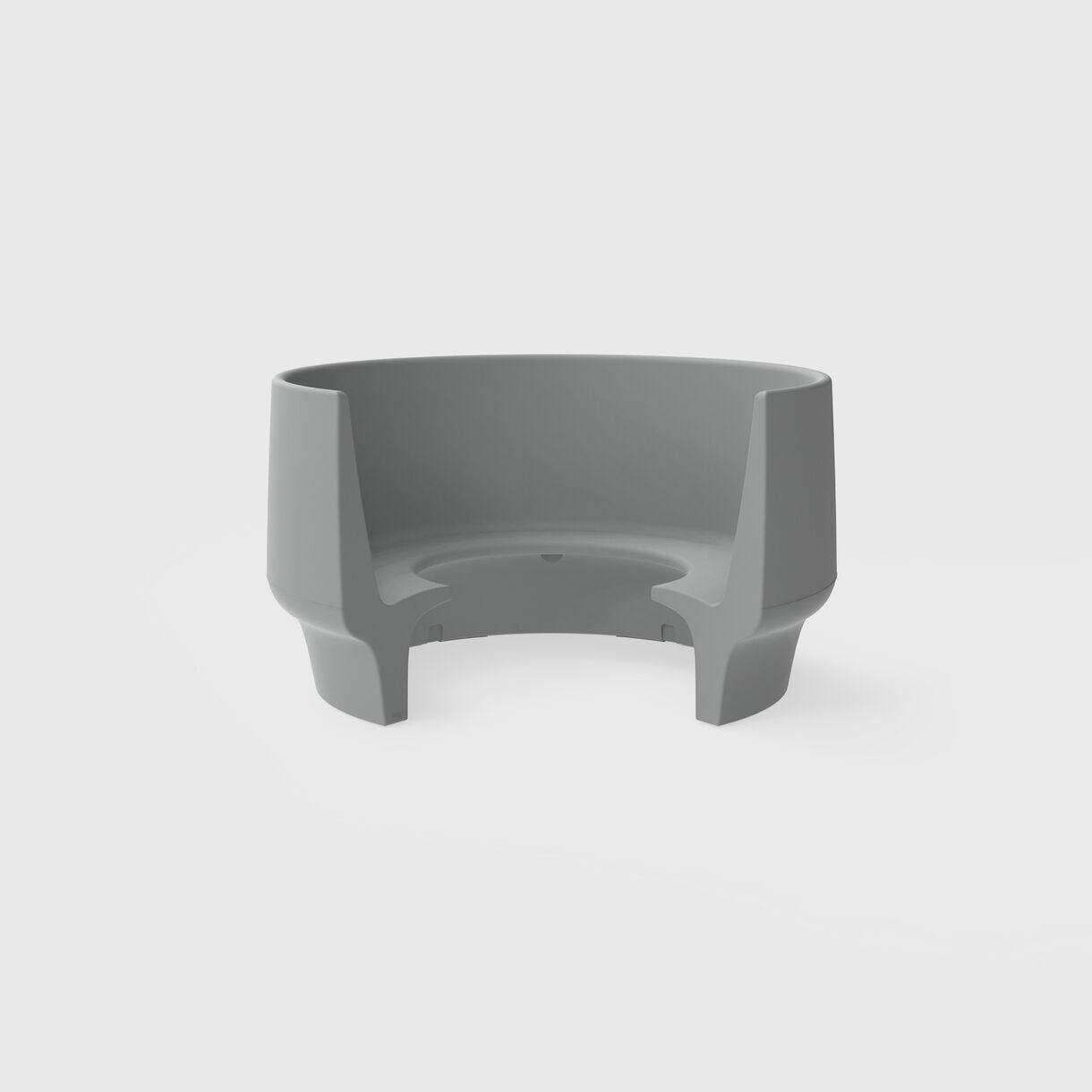 Cup Outdoor Seater, High Back
