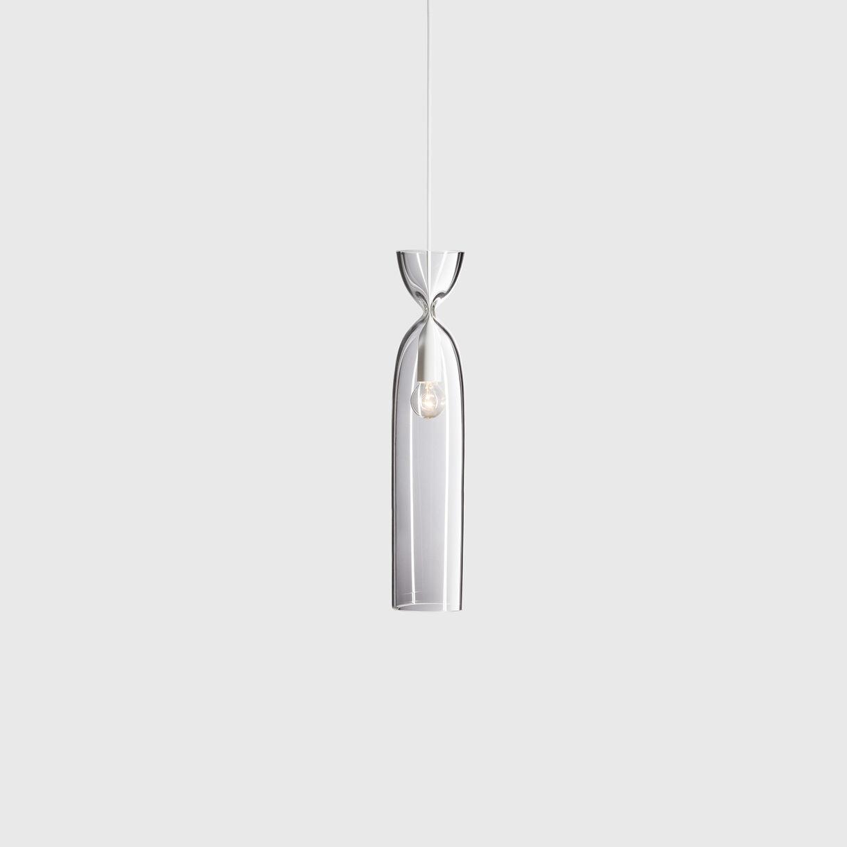 Press Pendant Lamp, Clear