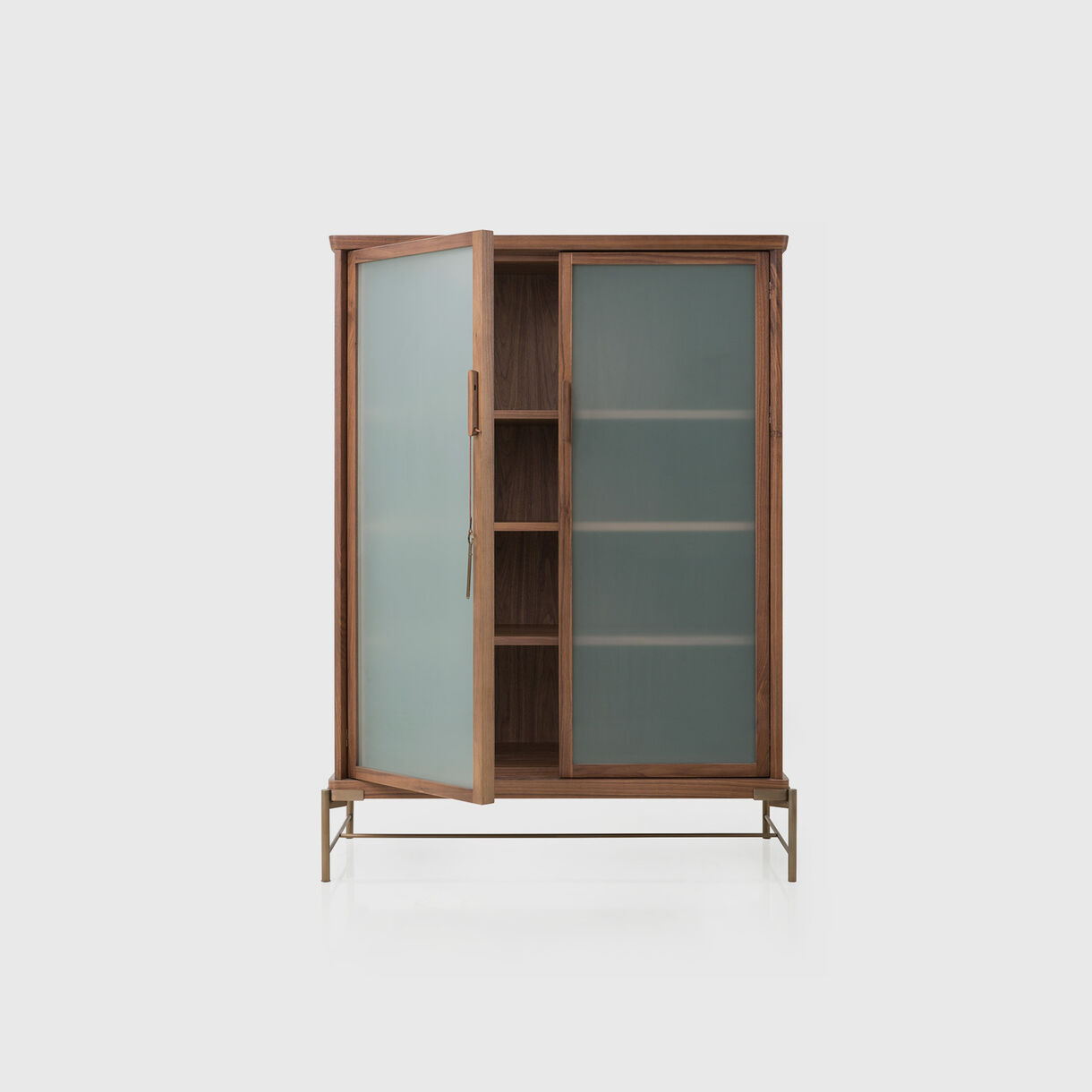 Dowry Cabinet III, Frosted Glass