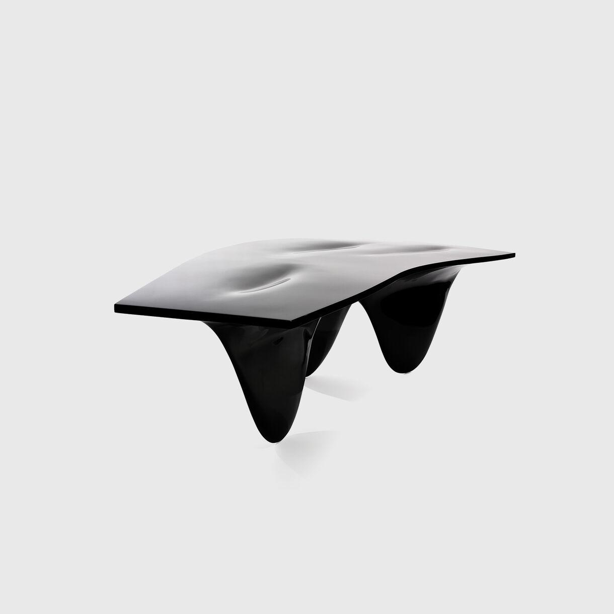 Aqua Table, High Gloss Black