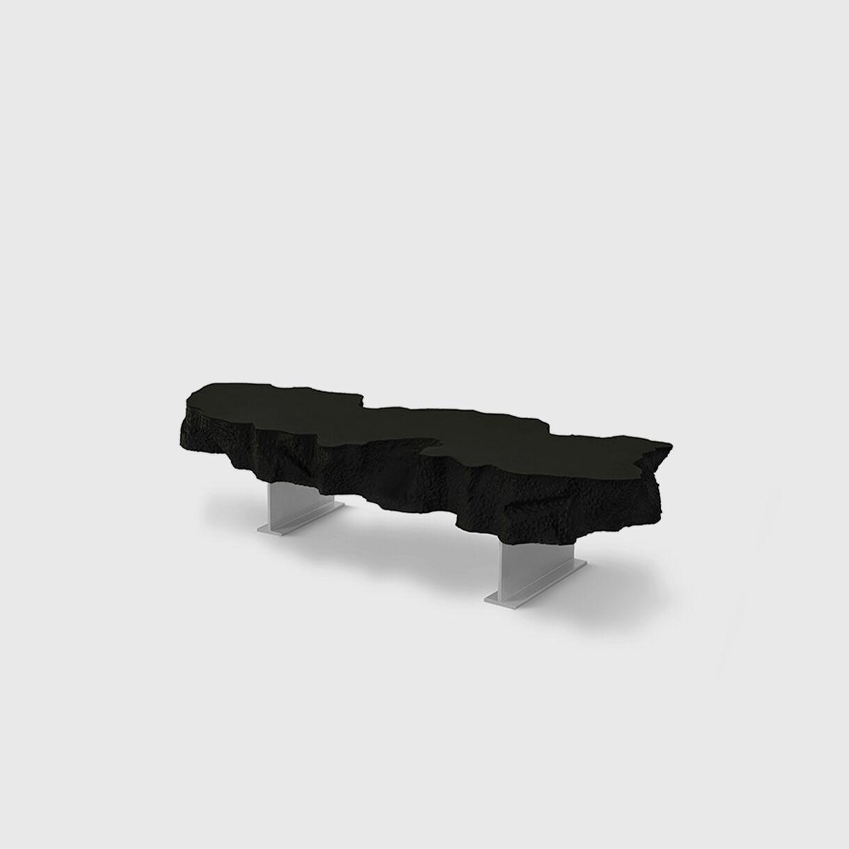 Broken Bench, Black