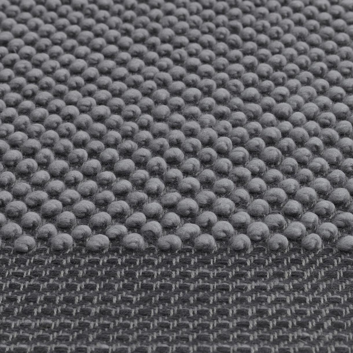 Pebble Rug, Dark Grey
