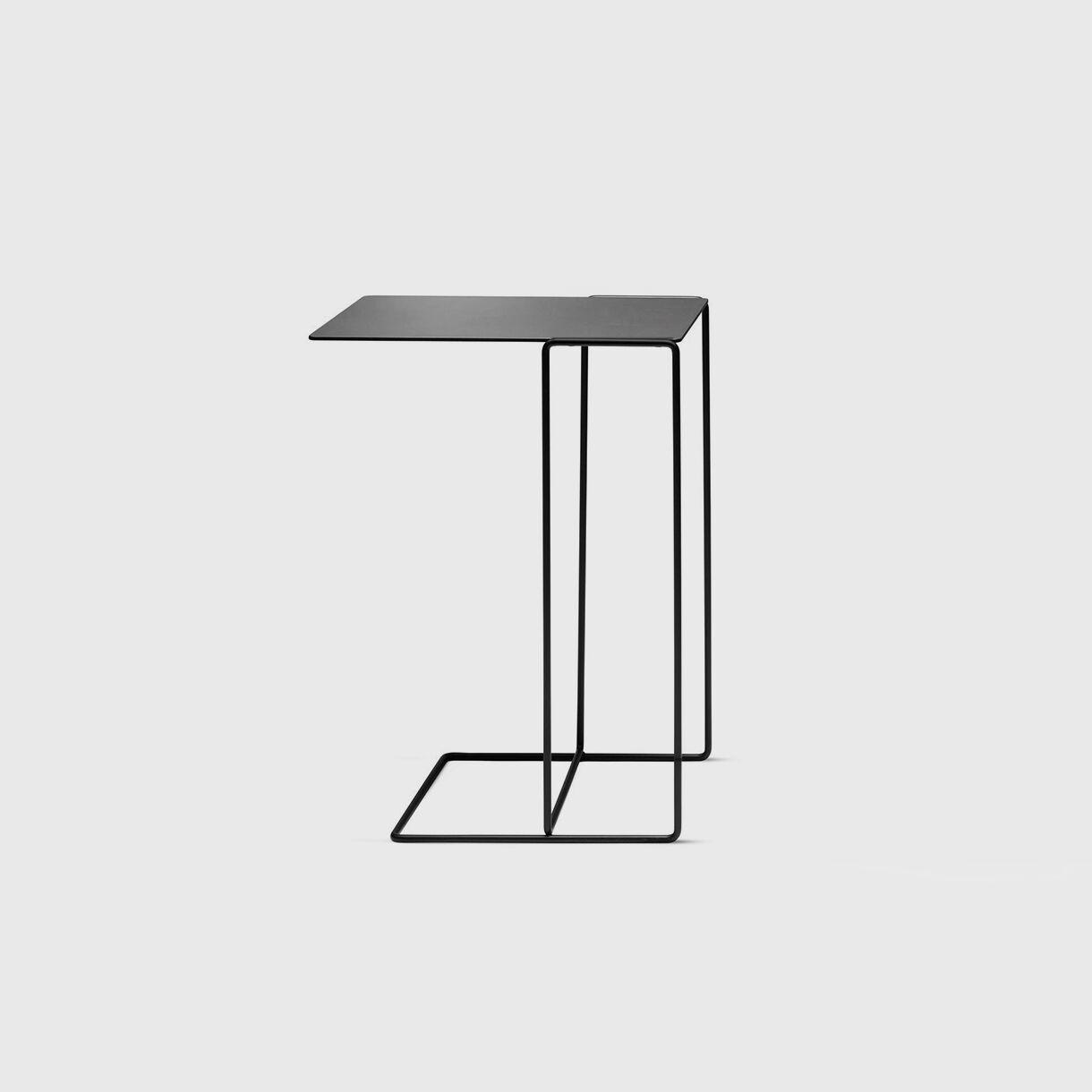 Oki Side Table, T1, Black