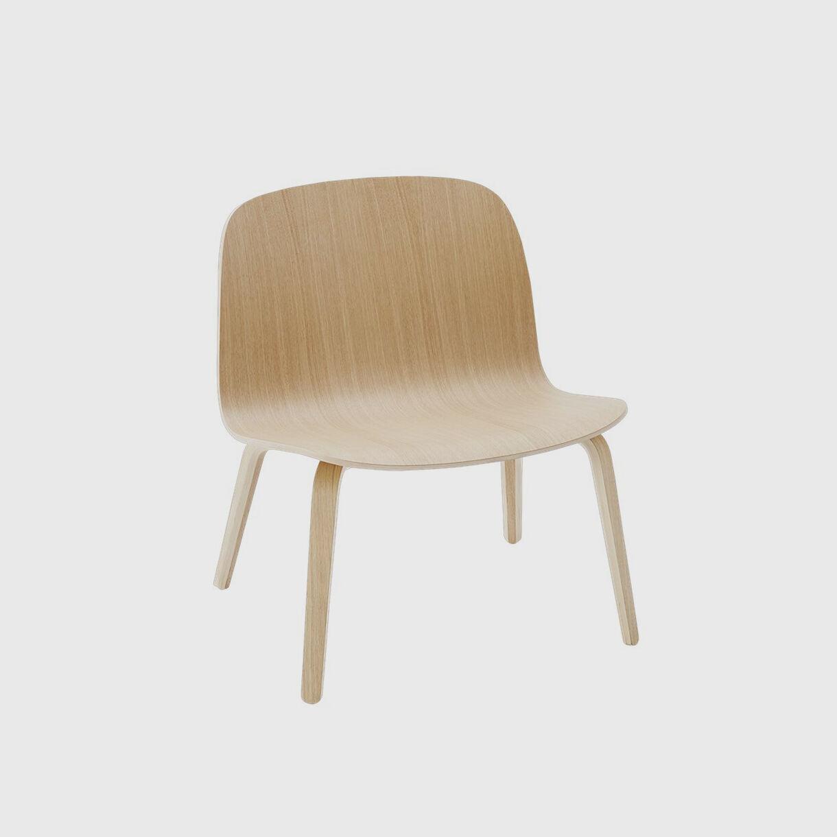 Visu Lounge Chair, Oak