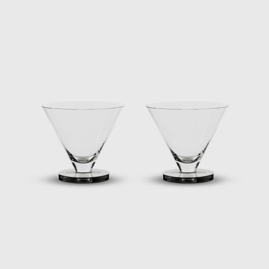 Puck Cocktail Glasses