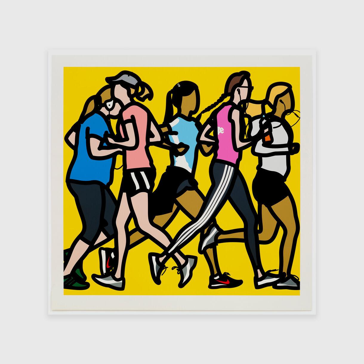 Running Women, Julian Opie