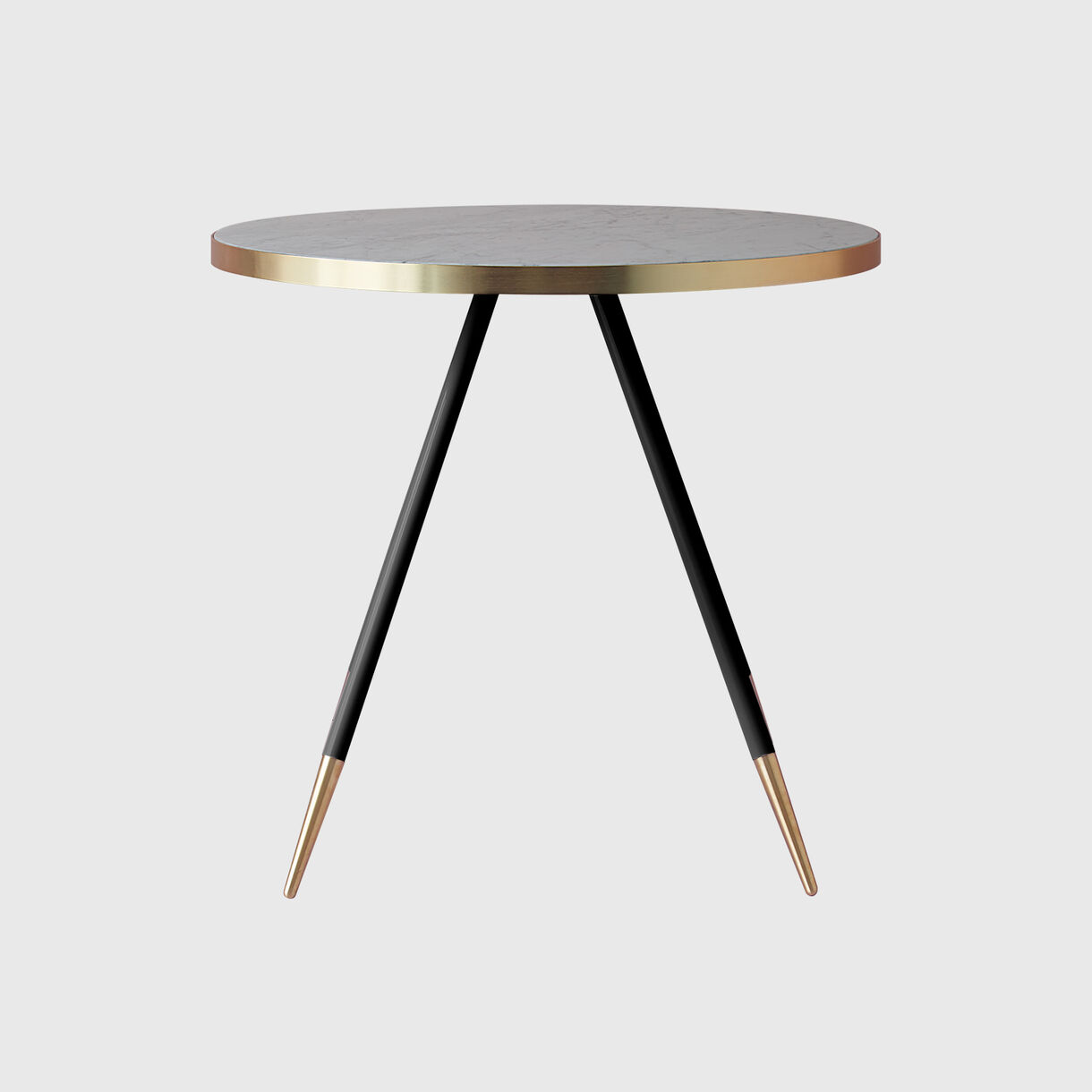 Band Dining Table, Bianco Marble