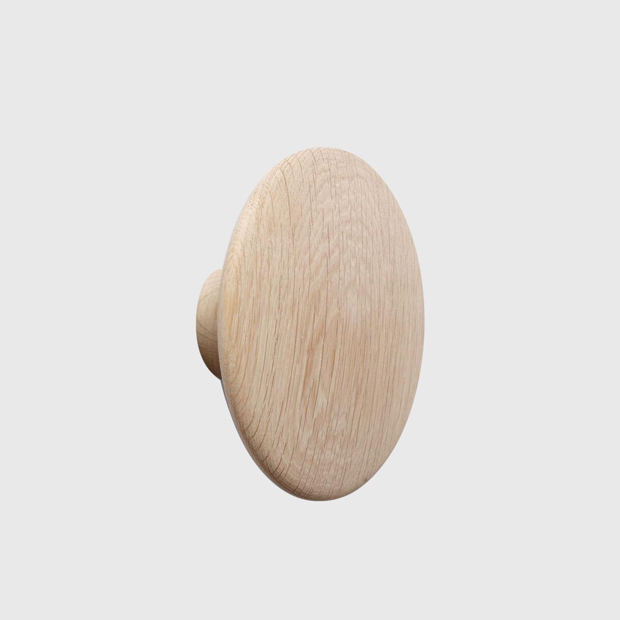 The Dots Wood, Oak, Large