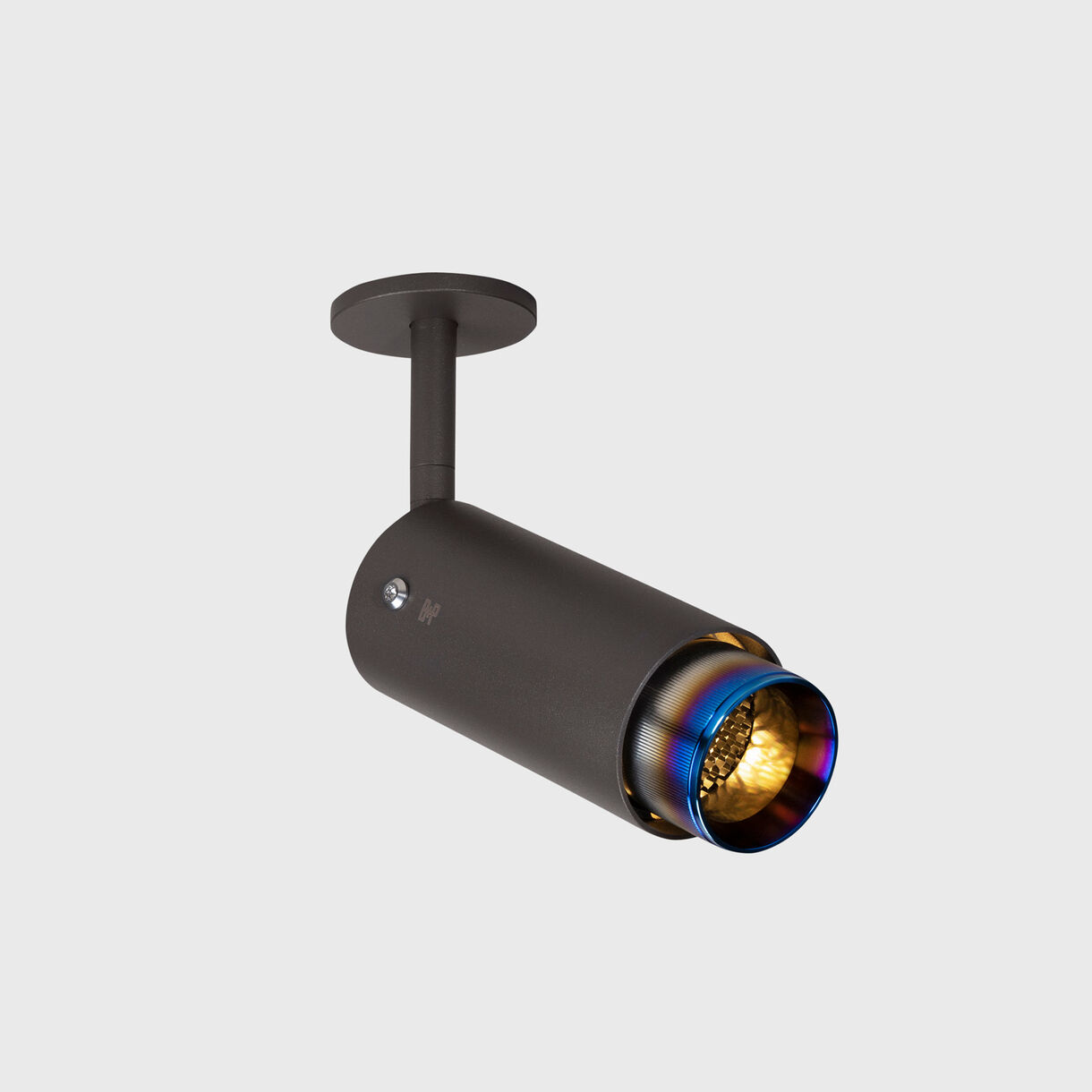 Exhaust Spotlight, Graphite & Burnt Steel